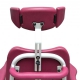 Soflex Electric Height Adjustable Shower Chair With Wrap Around Armrests
