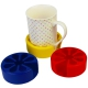 Tenura Silicone Anti-microbial Moulded Cup Holder