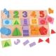 Fractions Shape Match Puzzle
