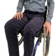 Men's Zip Front Wheelchair Cords