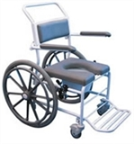 Self propelled shower chairs
