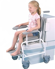 Multi-function commode and shower chairs