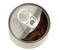 Opening ring pulls on food and pet cans