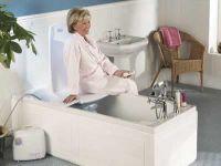 Rigid powered bath lifts
