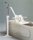 Fixed bath hoists