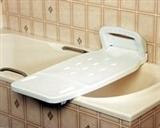 Wall-mounted bath boards