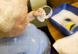 Image of Washing up