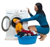 Image of Washing and ironing clothes